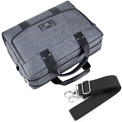 Chrono Protective Laptop/Tablet Shoulder Messenger Bag Carrying Case w/Handle For 13.3'' - 14'' Tablets, 2in1, Ultrabooks Netbooks by Vangoddy (Image #8)