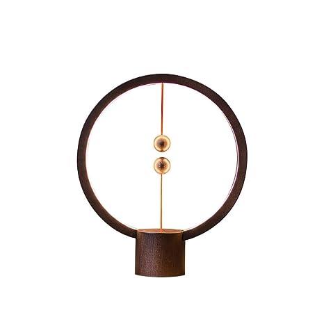 USB Lámpara de Mesa de Noche Luz LED Lámpara de Equilibrio ...