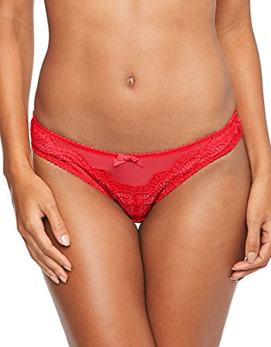 Agent Provocateur L'Agent Womens Vanesa Mini Brief Size Medium in Red