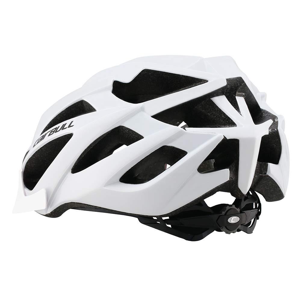 55-61cm Cairbull Casco Adulto Hombres Mujeres Bicicleta de Monta/ña Casco de Ciclismo con Visera M//L