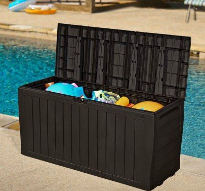 Home Storage Solutions,Patio Cushion Storage ,Garden Tools Organizer|71 Gallon