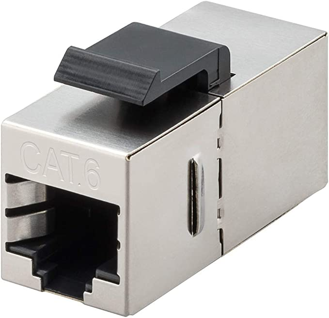 Premiumcord Rj45 Cat6 8 8 Stp Keystone Coupling Computers Accessories