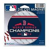 "WinCraft Boston Red Sox 2018 World Series Champions 5"" X 5"" Die-Cut Magnet"