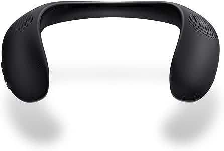Portable Bluetooth Speaker, Bluedio HS Wireless Wearable Bluetooth Speaker, Support TF/Micro SD Card, True 360 Stereo Sound, Deep Bass, Perfect Portable Wireless Speaker for Outdoor Activities