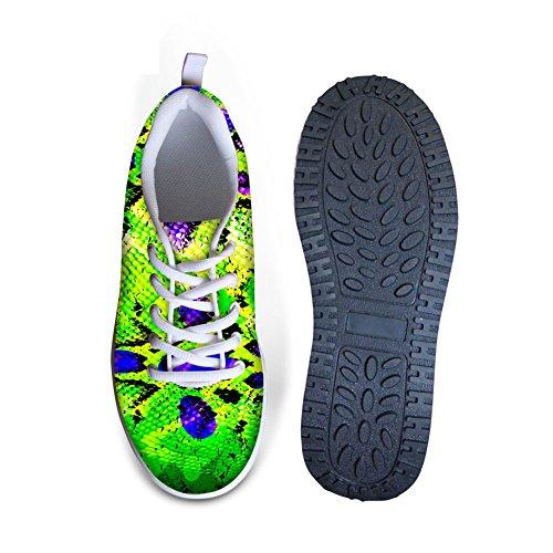 Bigcardesigns Lady High Platform Toning Fitness Fashion Walking Shoes Snakeskin 2 bG8hA8pPP