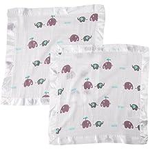 Lulujo Security Blankets, Elephants, Multi, One Size