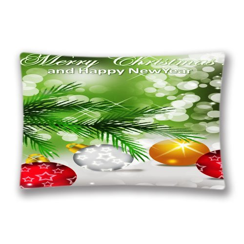 Decorative Home Uncategorized Pillow Case Cover 20x30inch(2 Sides) Rectangle Pillow Sham with Zipper