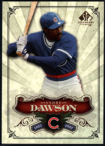 - Baseball MLB 2006 Upper Deck SP Legendary Cuts #42 Andre Dawson NM-MT Cubs