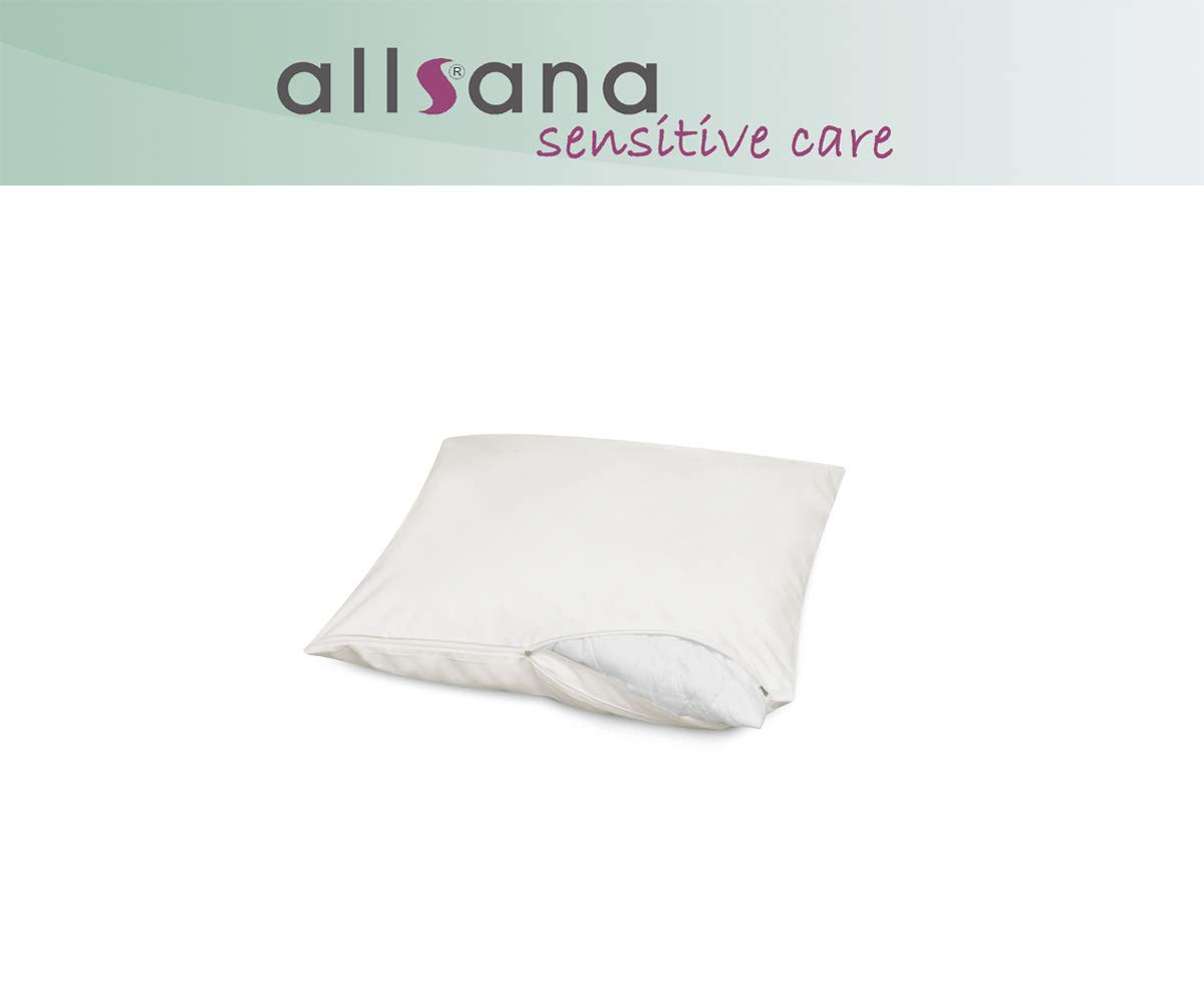Allsana - Funda hipoalergénica para almohada o cojín (40 x ...