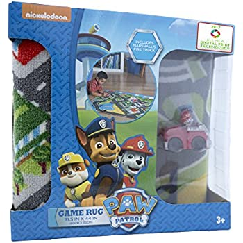 Amazon Com Gertmenian Paw Patrol Rug Hd Kids Play Mat One