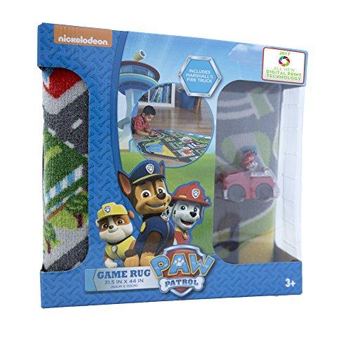 Gertmenian: Paw Patrol Toys Rug 2017 HD Marshall Fire Truck Adventure Bay Kids Game Play Mat, 32x44