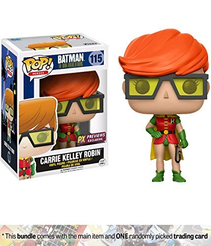(Carrie Kelley Robin (Preview Exclusive): Funko POP! x DC Universe - Batman The Dark Knight Returns Vinyl Figure + 1 FREE Official DC Trading Card Bundle)
