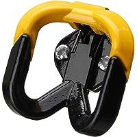 Wooya Haczyk motocyklowy do zawieszenia kasku, gadżet, rękawica uniwersalna, żółta, do Honda/Kawasaki/skutera