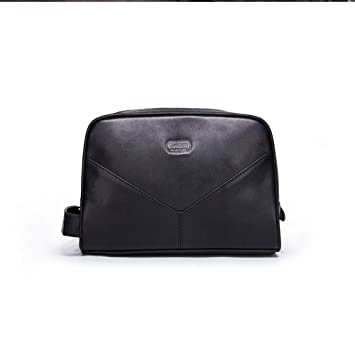 Moda clasica Paquete de bolso de muñeca para el bolso de viaje de negocios Bolso de mano para el embrague ...