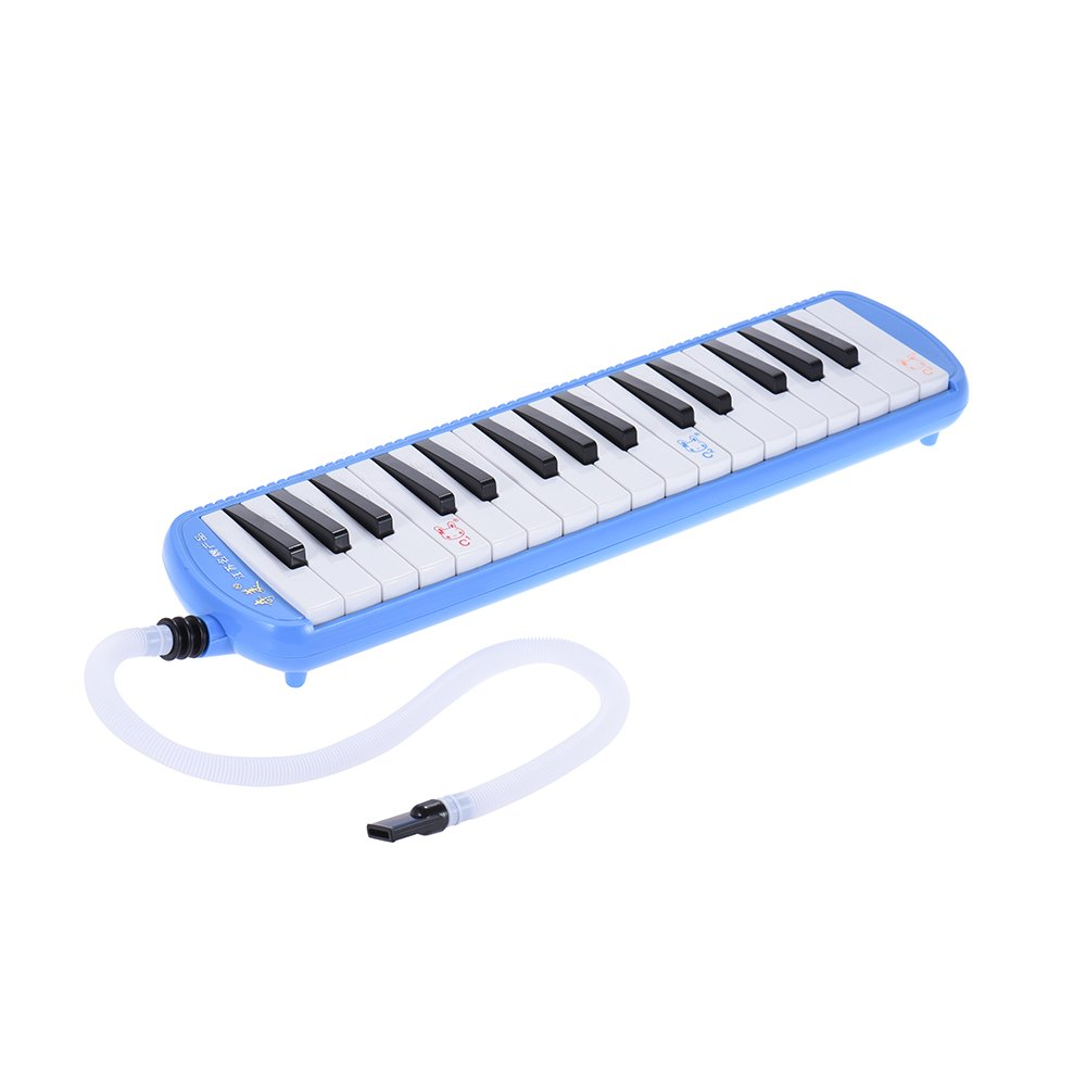ammoon QIMEI QM32A-7 32 Piano Style Keys Melodica Musical Education Instrument for Beginner Kids Children Gift with Carrying Bag