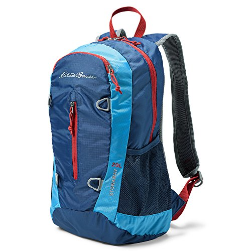 Eddie Bauer Unisex-Adult Stowaway 20L Packable Pack, True Blue Regular (Bauer Mesh)