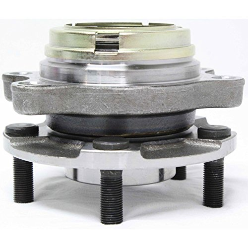 Stud Wheel Front - Wheel Hub and Bearing compatible with 2003-2007 Nissan Murano Front Left or Right With ABS Encoder Wheel Studs