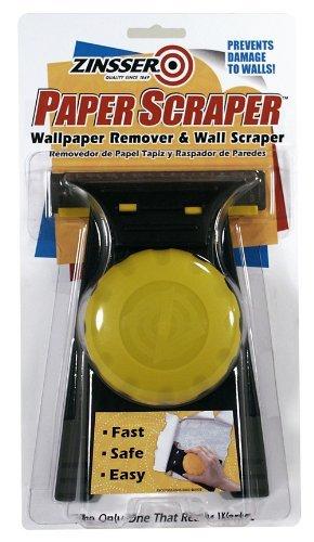 Paper Scraper - Zinsser 02986 Paper Scraper Wallcovering Remover & Wall Scraper