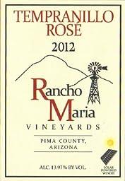 2012 Rancho Maria Vineyards Tempranillo Rosé 750 mL