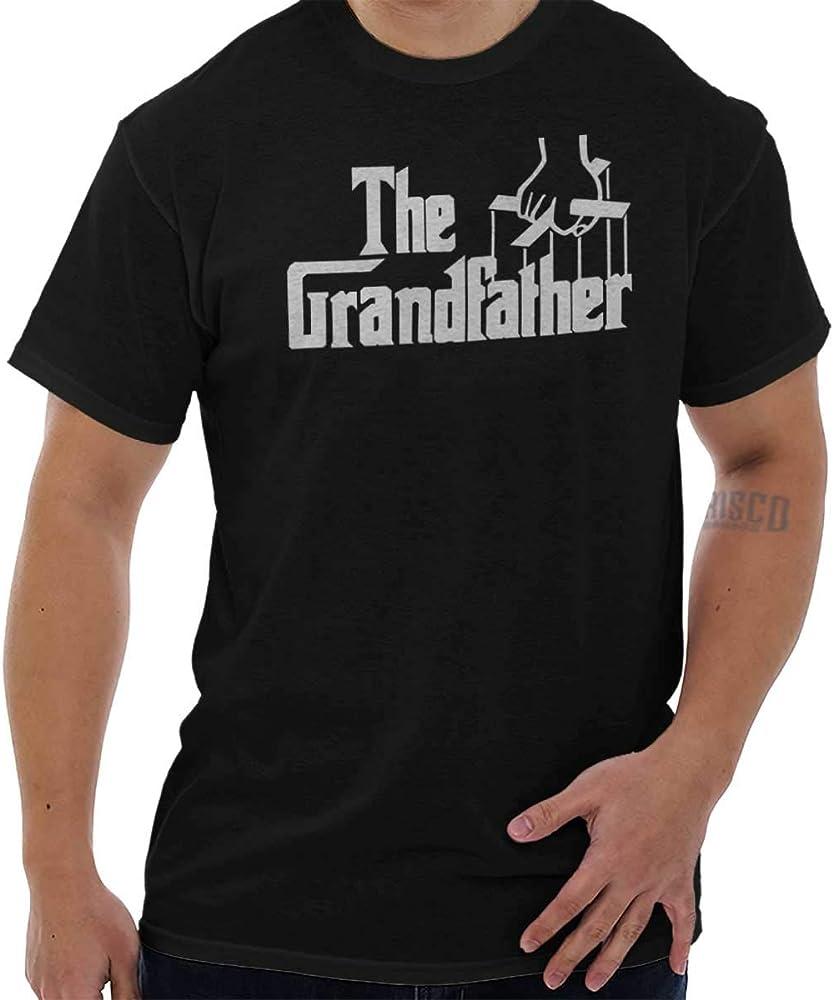 Amazon Com Brisco Brands Grandfather Italian Mafia Puppet T Shirt For Men Black Clothing