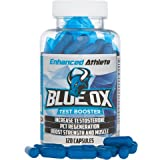 Enhanced Athlete Blue Ox - Testosterone Booster Supplement - Male Enhancement Pills to Boost Testosterone, Muscle Mass & Libido - 120 Capsules