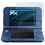 atFoliX Screen Protection Film compatible with Nintendo New 3DS XL 2015 Screen Protector, ultra-clear FX Protective Film (Set of 3)
