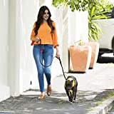 Bolux 5ft Dog Leash, Heavy Duty Rope Leash with 2