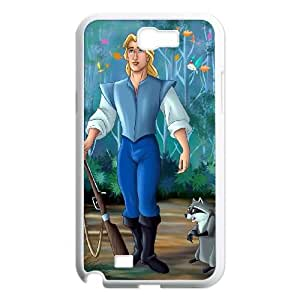 Samsung Galaxy N2 7100 Cell Phone Case White Disney Pocahontas Character Captain John Smith ckja
