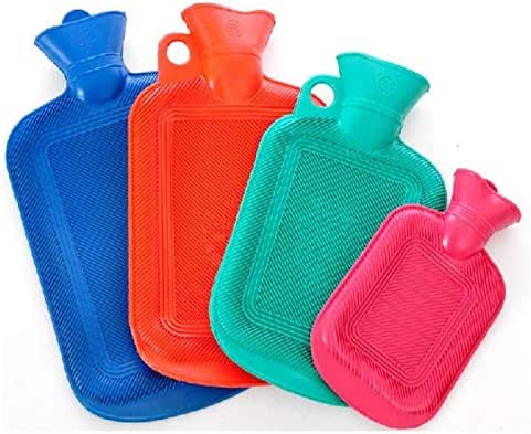 Hot Water Bottle Rubber Winter Hand Warmer Portable Hot Water Bottle Pocket Feet Hot Water Bag@1PCS Small Random