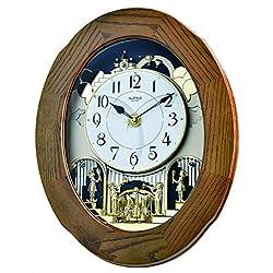 Rhythm Clocks Joyful Essence Magic Motion Clock