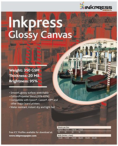 (INKPRESS MEDIA 350GSM,20MIL, 95% Bright Quality Paper (#ACWG131910))
