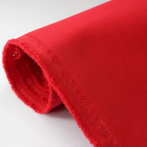 Canvas Awning Fabric MARINE OUTDOOR FABRIC Red ( 5 Yards)