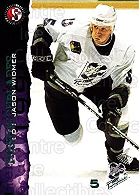 (CI) Jason Widmer Hockey Card 1996-97 Kentucky Thoroughblades 19 Jason Widmer