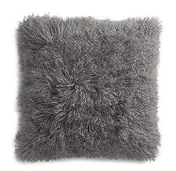 Amazon.com: Funda de cojín de piel de oveja de piel de ...