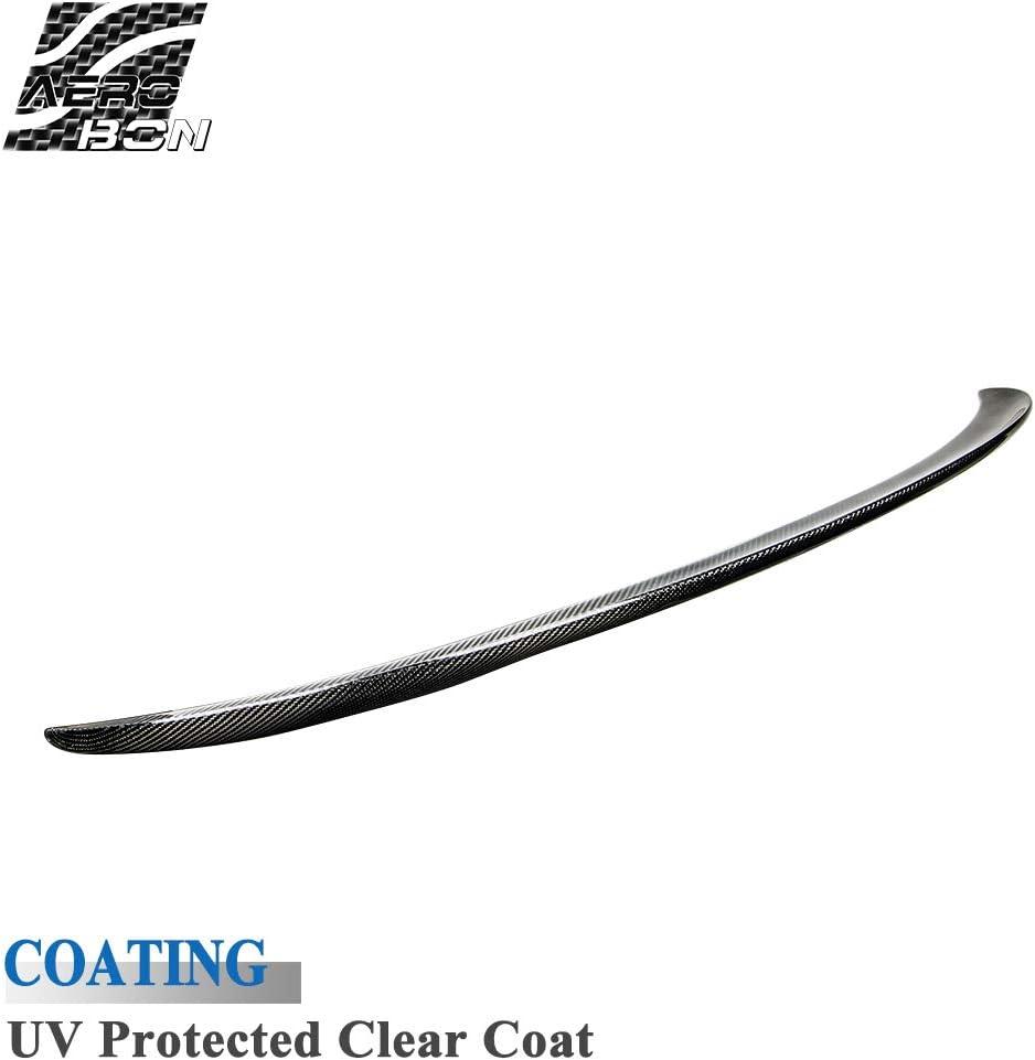 Aileron de coffre en fibre de carbone v/éritable compatible avec E92 S/érie 3 et M3 Coup/é 2006-2013 Type de performance