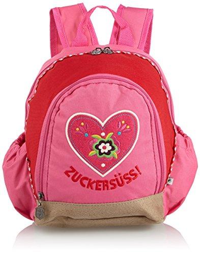Adelheid Zuckersüss Rucksack - Mochilla para niñas, color rosa (pink 661), 22x29x15 cm (B x H x T)