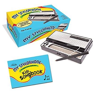 Dubreq-eMedia My Stylophone pocket synthesizer plus kids songbook