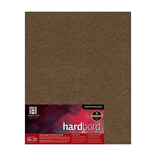 Ampersand Museum Series Hardbord for Painting and Mounting, 3/4 Inch Depth Cradle, 16X20 Inch (AMHBC16) [並行輸入品]   B07TH1Y822