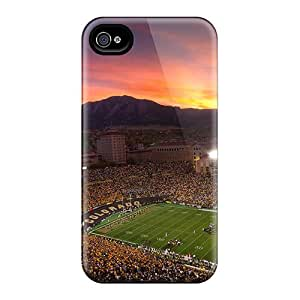 High-quality Durable Protection Case For Iphone 4/4s(colorado Football Field)