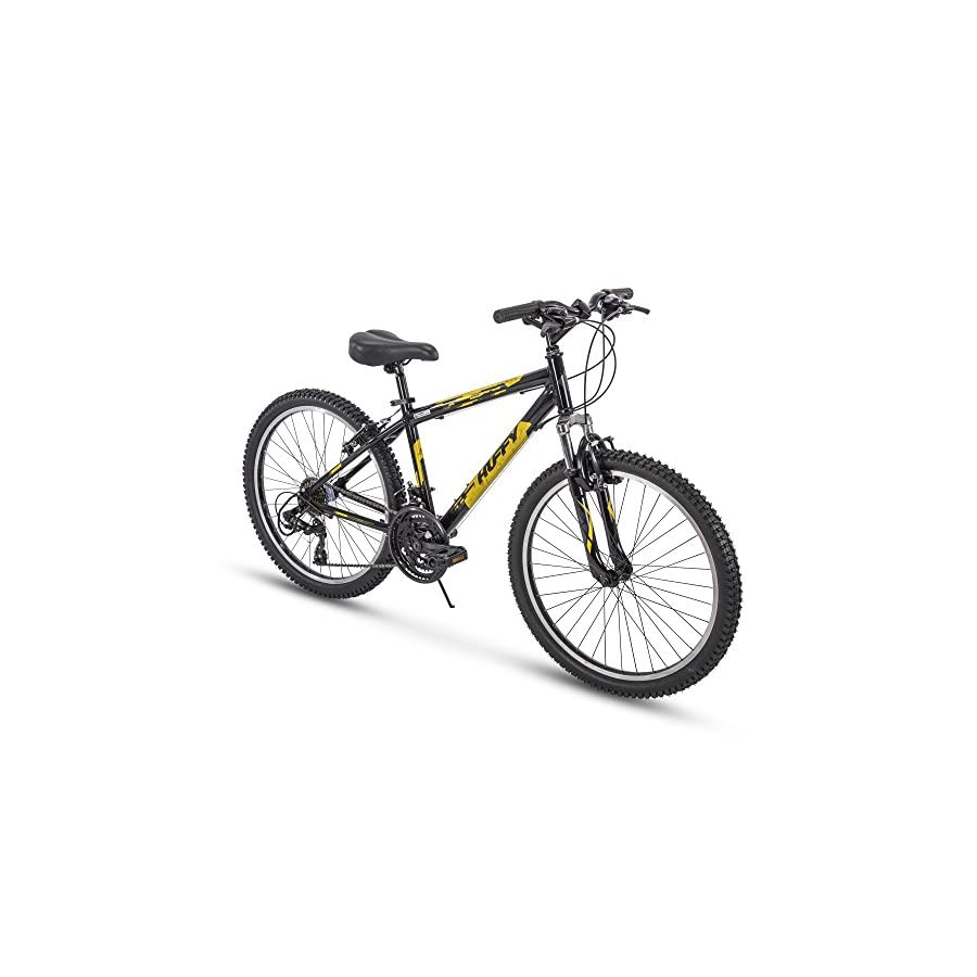 Huffy Escalate 21 Speed Hardtail Mountain Bike Aluminum Frame with Shimano Derailleur