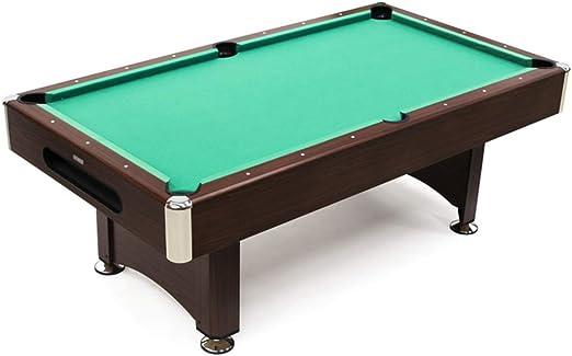 Devessport - Mesa de Billar Semi Profesional Akra - Fácil Montaje - Incluye niveladores de Patas - Ideal para Jugar con Amigos - Medidas: 221 x 122 x 81 Cm: Amazon.es: Juguetes y juegos