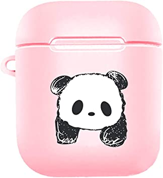 Amazon Com Cute Panda Airpods Case For Girls Pink Airpods Case
