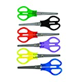 Transparent Handle School Scissors - Kid's School Supplies - 12 per Pack - From Fun365