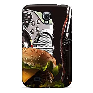 Tpu Case Cover For Galaxy S4 Strong Protect Case - Still Life 5 Design