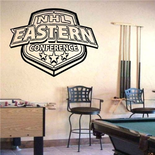 Vinyl Decal Mural Sticker NHL Eastern Conference S532