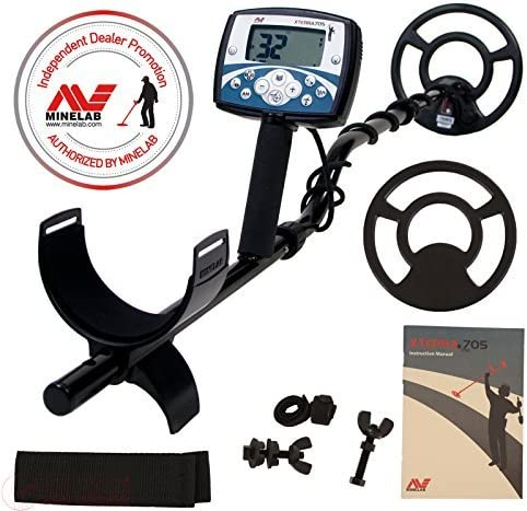 Minelab X-Terra 705 Metal Detector with 9 7.5 kHz Search Coil SPECIAL Promo