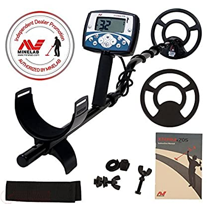 Amazon.com : Minelab X-Terra 705 Metal Detector with 9