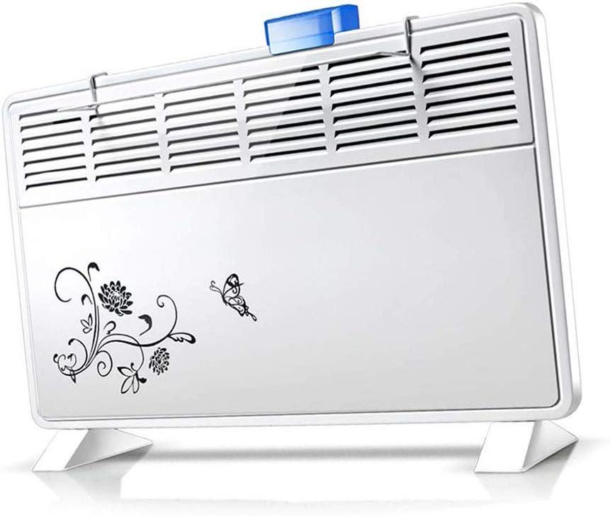 XJZHAN Calentador de convección Calentador 3 Segundos de HotWall y ajustes Ajustables Verticales de 2 calorías Calentar,White,Size3