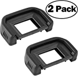 Camera Eyecup Eyepiece for Canon EF Replacement Viewfinder Protector for Canon EOS 300D 350D 400D 450D 500D 550D 600D 1000D 1100D 700D 100D CANON Rebel XT XTi XS XSi T1i T2 T2i T3 T3i T4i T5i SL1