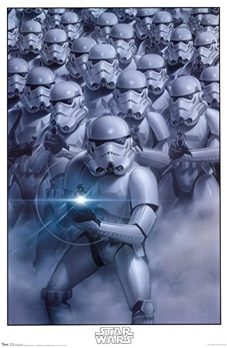 Star Wars Stormtroopers Empire Poster Print